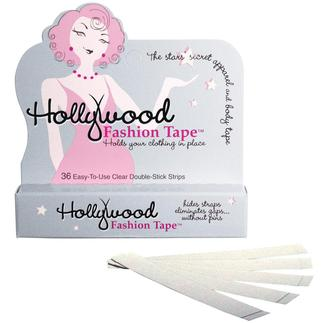 Hollywood Fashion Tape® Hollywood Fashion Tape®: The secret to a perfectly fitting outfit.