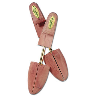Cedar-Wood Shoe Trees Shoe trees made from cedar wood.