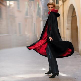 Kinsale Cape The traditional Kinsale cloak from Ireland: The comfortable and exceptional protection against the cold.