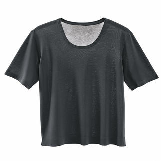 4.2 oz T-shirt Superbly soft, refreshingly cool and made of silk.