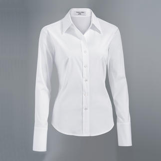 Albini Blouse The classic shirt blouse made from the finest Albini fabric.