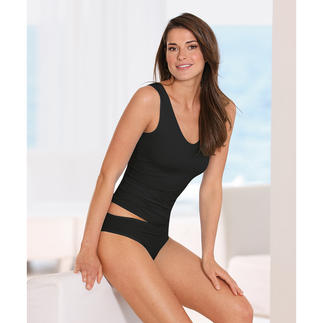 Shelf-bra Underwear This underwear in silky soft Meryl® shapes and supports with an invisible shelf-bra.