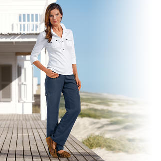 Tencel® Linen Comfort Trousers Your favourite casual trousers for summer. Light and airy, smart and sensationally comfortable.