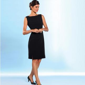 Micro Silk Sheath Dress or Trousers Elegant, black, valuable. Crease-resistant and breathable.