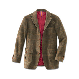 "Hunting Jacket ""Irish Tweed"" The stylish alternative to high-tech outdoor jackets."