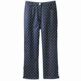 Michèle 7⁄8 Dot-Print Trousers The eternal classic that's still hard to find: The 7/8 trousers with dot design.