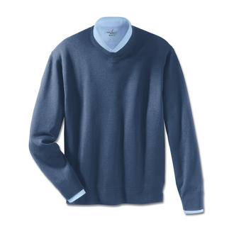 Woolsensation® Pullover Only Cashmere is equally gentle on your skin. The pullover made of extra fine Merino wool.