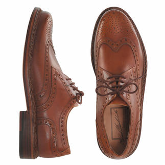 Budapest Shoes Hand sewn in soft calfskin. By Heinrich Dinkelacker.