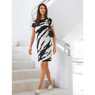 cavalli CLASS Zebra Print Dress The designer dress for everyday wear and virtually any occasion.