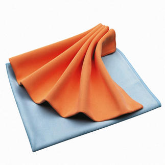 Micro active cleaning cloths Attracts dirt more effectively than other cleaning cloths. Without chemicals. Also available as a floor cloth.