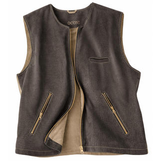 Globetrotter Waistcoat The luxurious waistcoat for true globetrotters. Made of soft lamb nubuck leather.