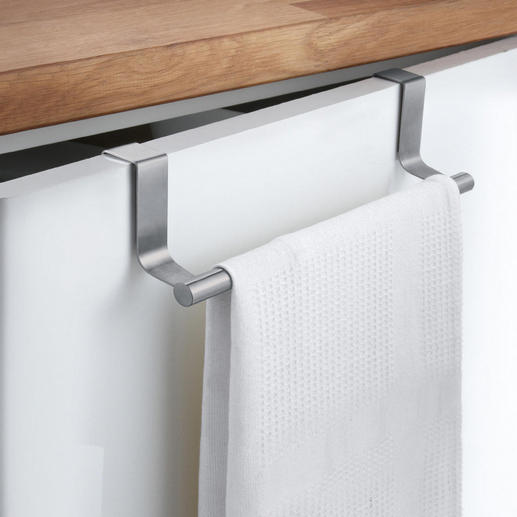 Towel Rail, Set of 2 Turns every cupboard door into a towel rack. Simply hang it over the door. For the kitchen & bathroom.