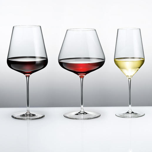 Zalto Denk'Art Burgundy Glass, Bordeaux Glass or White Wine Glass - Extremely thin, brilliant, perfectly translucent. Shock-proof, dishwasher-safe and resistant to turbidity.