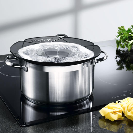 Kochblume® Prevent pans from boiling over.