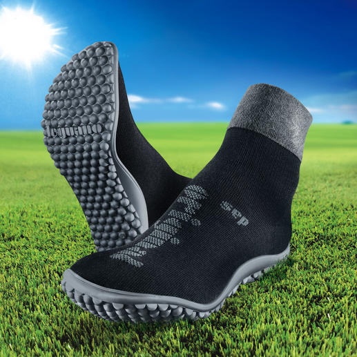 leguano® Barefoot Sock or Ballerina Flats As healthy and relaxing as walking barefoot. As comfortable and warm as a sock.