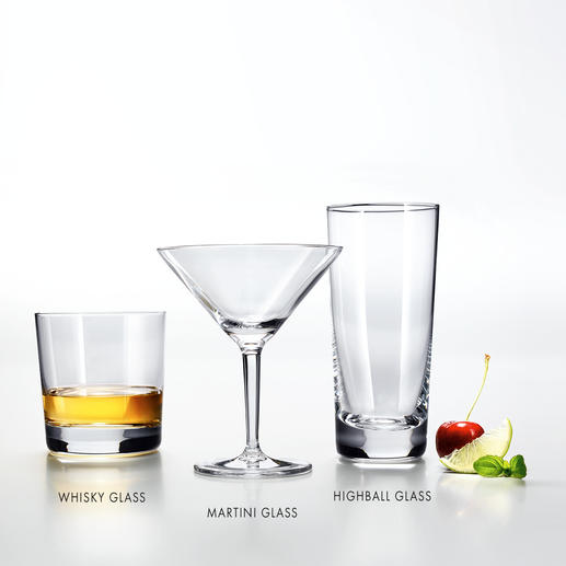 Charles Schumann bar collection Classic designs from the finest Tritan® crystal. For a premium drinking experience.
