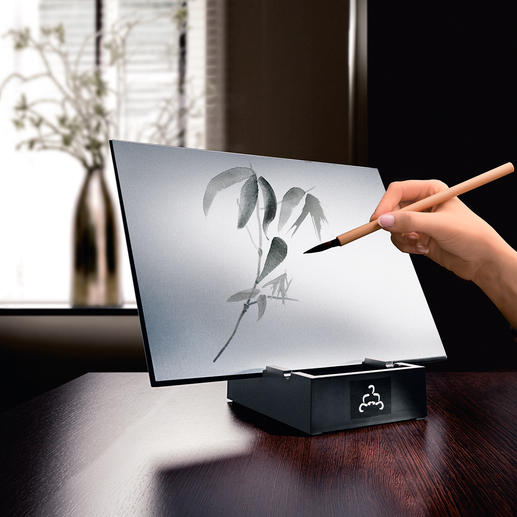 Buddha Board - Create fascinating ephemeral art – a wonderful source of relaxation.