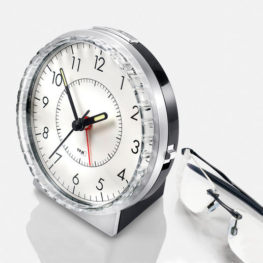 Bell Alarm Clock - The good old alarm clock with a bell chime – now even better.