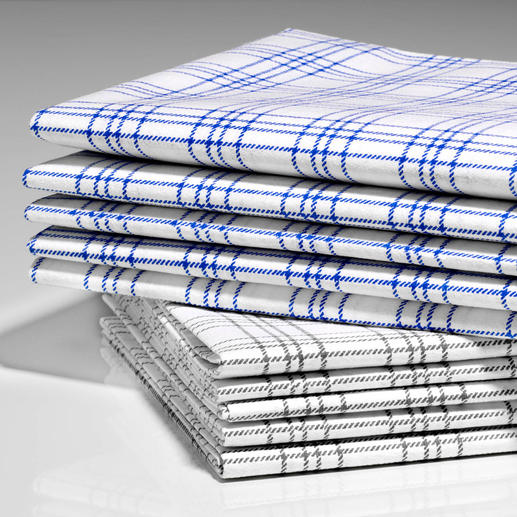 High-Tech Cleaning Cloths, Set of 5 More absorbent, a better grip, much softer and 100% lint-free.
