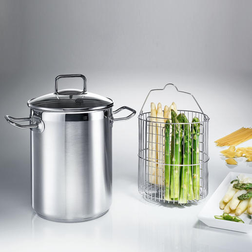 Asparagus Pot SUS Ideal for large and small quantities.