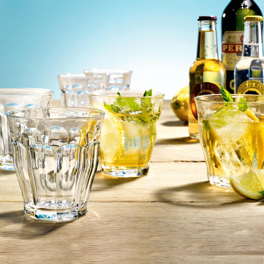 Picardie Glass Tumblers, Set of 6 Timeless. Beautiful. Unbeatable: The classic French Picardie glass tumblers.