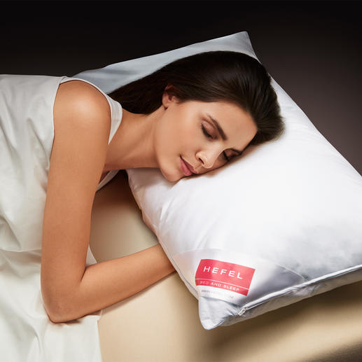 Hefel Cool Pillow - Deep, refreshing sleep on hot nights. Transfers warmth away from your head, face & neck.