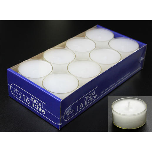 Maxi Tealights, 16 units (separately available)