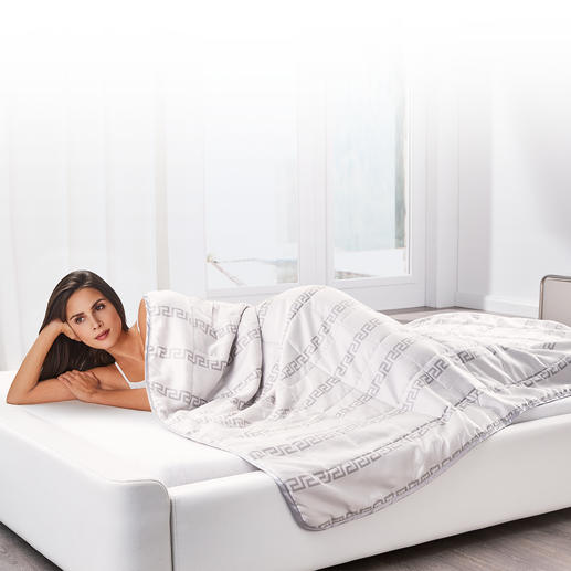 HEFEL Tencel® Quilt All the benefits of high-tech Tencel® fibre. And does away with annoying duvet covers.