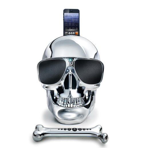 AeroSkull HD+ - Both high-end speaker & iconic object. Developed under the direction of star musician, Mr. Jean Michel Jarre.