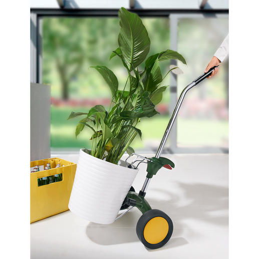 Planter Trolley - Move everything with ease. No more lugging, no more backaches.