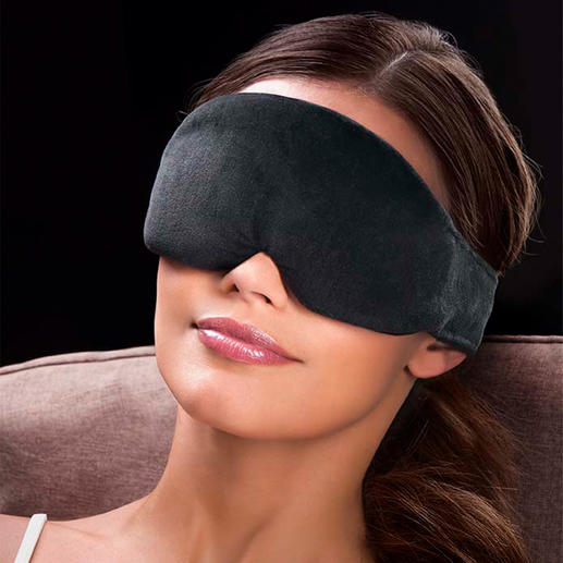 Sleep Mask Light as a feather. Better padding. Blocks light 100%. Comes with soft ear plugs.