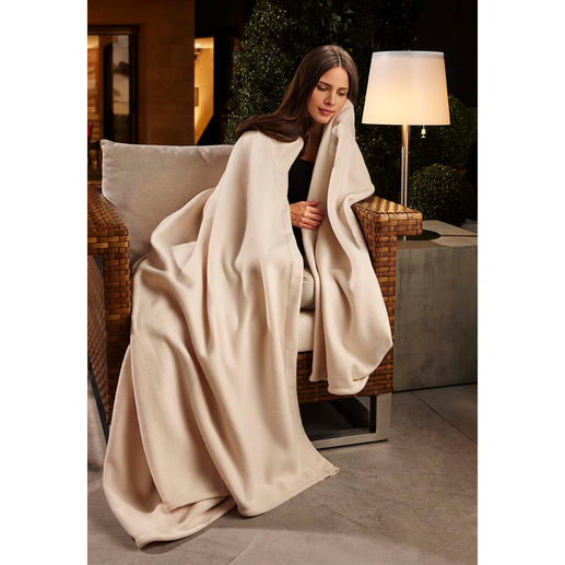 Wonder Blanket® Lovely soft fleece and wonderfully warm: Ideal for either one person or to share.