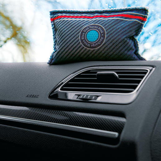 Car Dehumidifier XXL with Indicator, Set of 2 - The reusable dehumidifier with patented indicator.