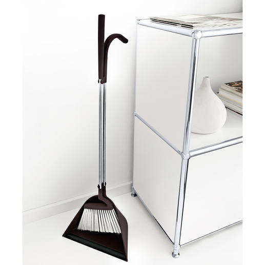 TIDY Broom & Dustpan Sweeping without bending – extremely comfortable and ergonomic.