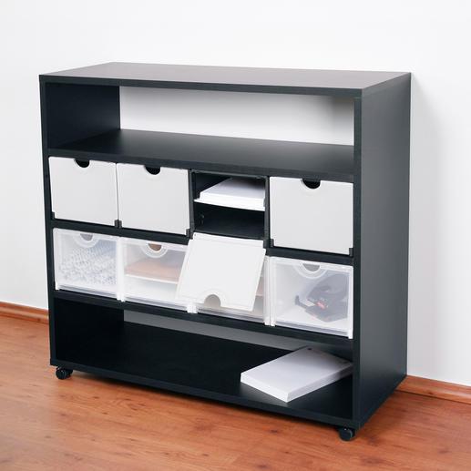 Smart rack, 4 x 4, Black