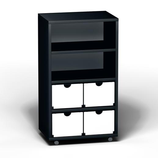 Smart rack, 2 x 4, Black