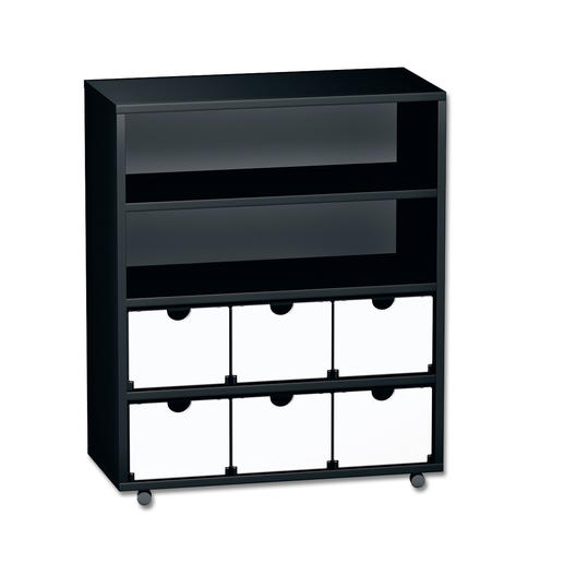 Smart rack, 3 x 4, Black