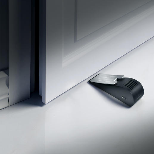 Doorstop Alarm - Extremely simple but effective protection against burglars, even in hotel rooms, holiday apartments, etc.