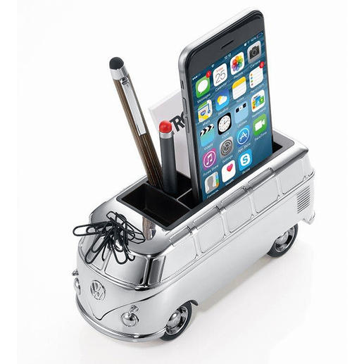 VW Camper Van Organiser - A fun organiser. On your desk, dining table, in your bathroom.