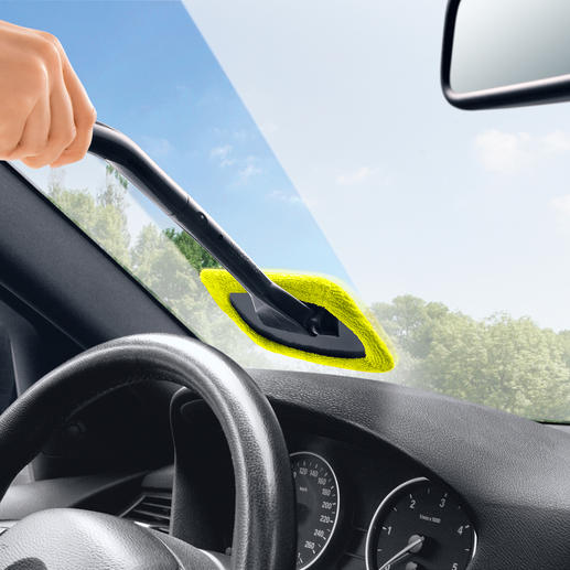Windscreen Wonder, Set of 2 Finally, a quick and easy way to clean the inside of your car's windows.