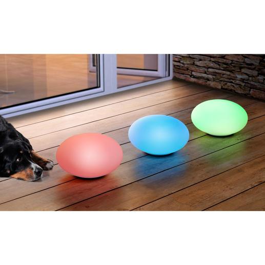 Schaffen Sie eine traumhafte Abendstimmung auf Ihrer Terrasse: Lassen Sie die Farben fließend ineinander übergehen oder wählen Sie Ihren Lieblingston.