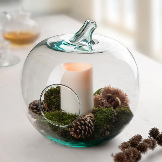 Can be used as a lantern: With pillar candle or guaranteed non-smoky outdoor LED candle (sold separately).