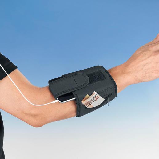 Arm Safe II - Money, credit cards, mobile, keys, etc. Keep your valuables safe on your person.
