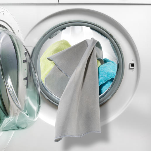 Active silver eliminates up to 99.9% of bacteria on your laundry.