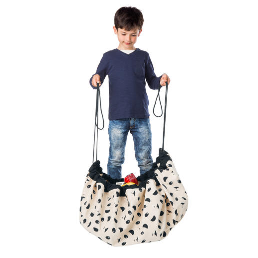 "Toy Bag ""Play & Go"" Storage, toy bag and play mat in one."