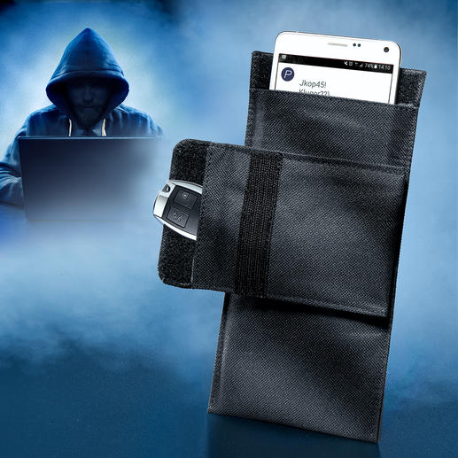 Smartphone Shielding Case 100% protection for mobiles and smartphones from unauthorised access, tracking and tampering.