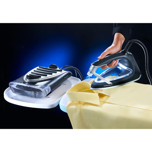 VapoCare High-Tech Iron - New generation: With a transparent soleplate and up-to-date thermal glass nanofilm technology.