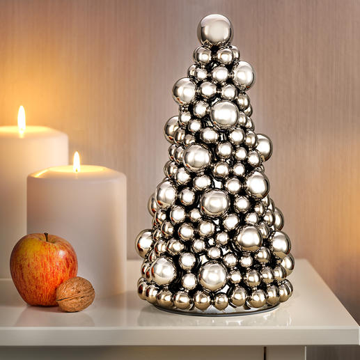 Christmas Bauble Tree - Traditional Christmas decoration in a contemporary design.