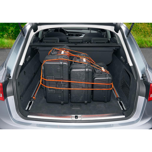 Whether in the house, car, everyday life or on holiday – with RunLock there's no need for knots as you can use it for fixing, clamping and strapping.