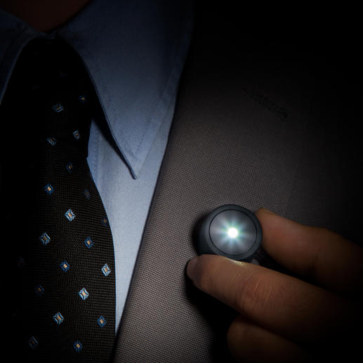 Magnetic Lamp - Added safety with little effort. Makes you more visible in the dark.